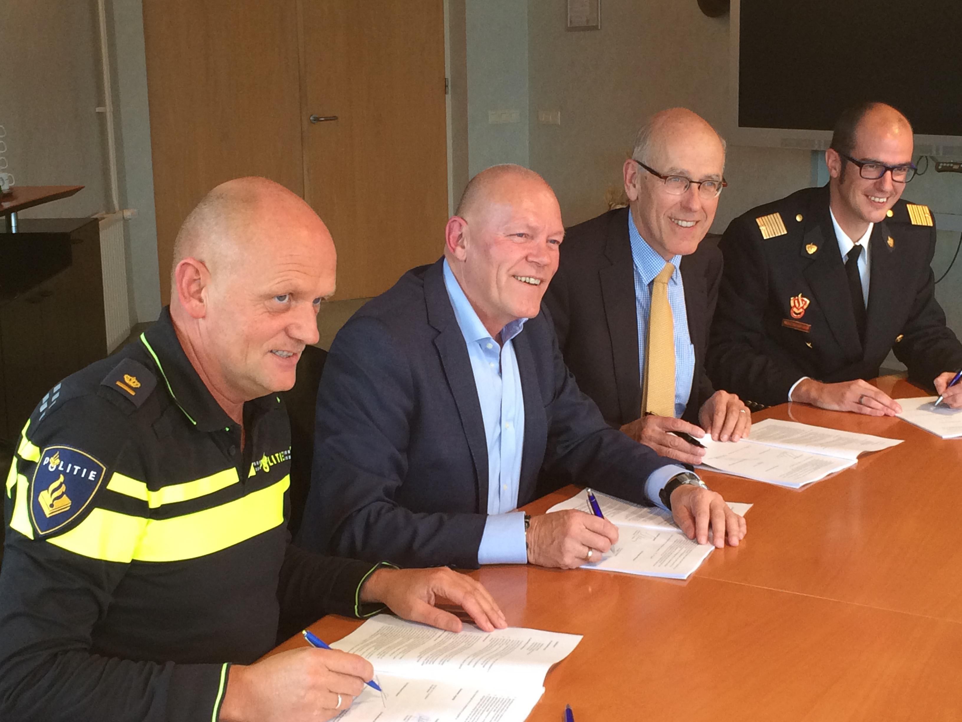 Ondertekening Keurmerk Veilig Ondernemen Breekland