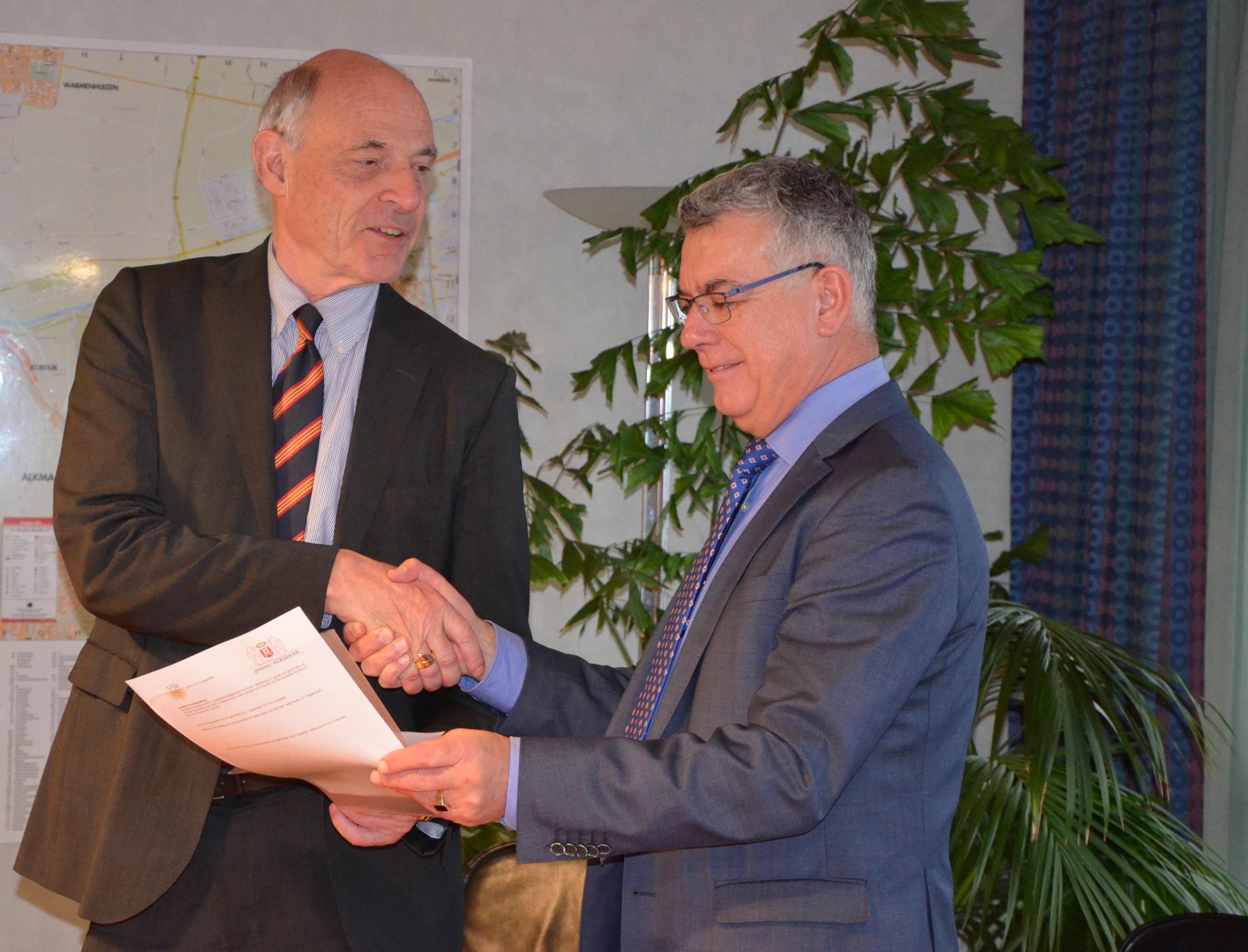 Nieuwe milieustraat voor Alkmaar en Langedijk