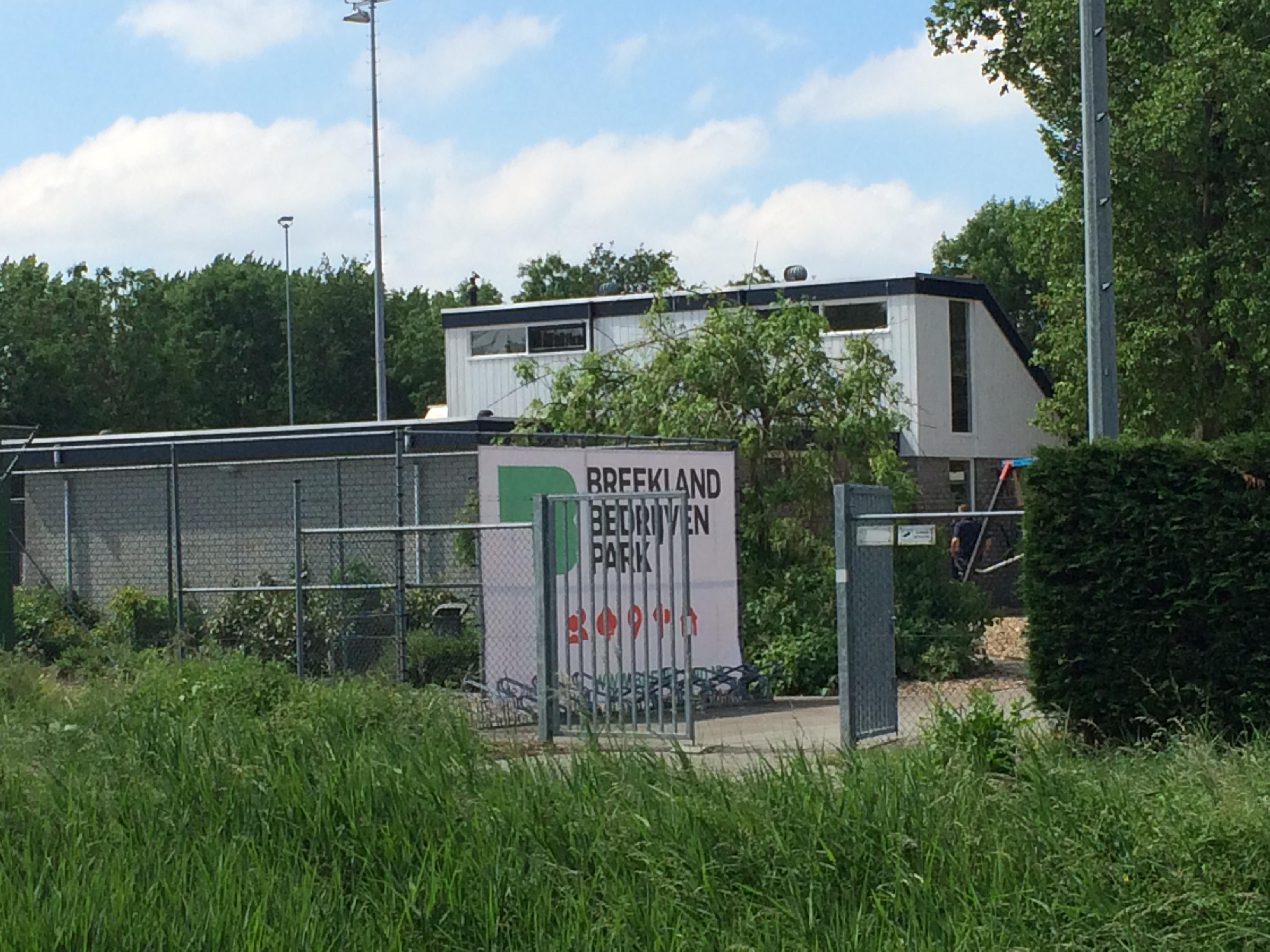 Breekland presenteert zich bij tennisvereniging Tulp