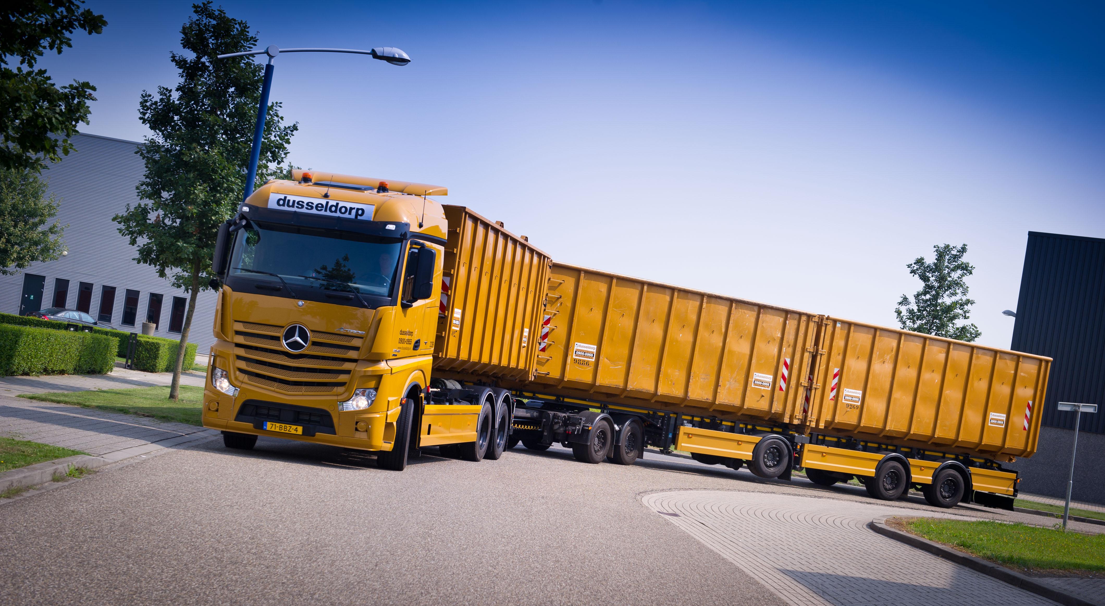Lange en zwaardere vrachtautocombinaties welkom op Breekland