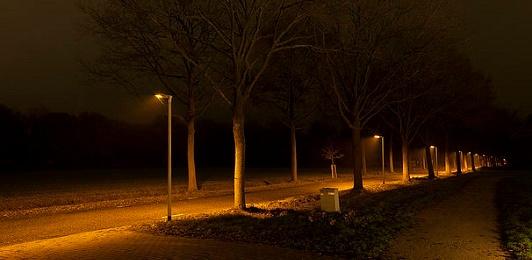 Diepsmeerweg grotendeels voorzien van verlichting